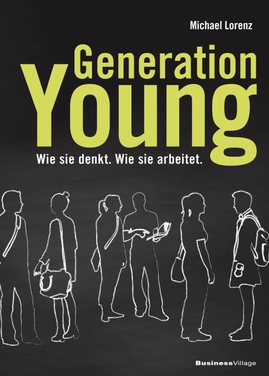 Buch-Cover Generation Young