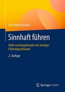 Coverbild Buchveröffentlichung Sinnhaft führen von Uta Rohrschneider