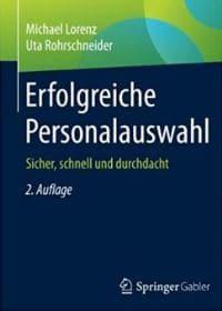 HR-Kompetenz: Buch Erfolgreiche Personalauswahl, Michael Lorenz+Uta Rohrschneider