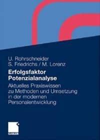 Coverbild Buchveröffentlichung Erfolgsfaktor Potenzialanalyse von Uta Rohrschneider, Sarah Friedrichs, Michael Lorenz