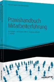 Coverbild Buchveröffentlichung Praxishandbuch Mitarbeiterführung von Michael Lorenz, Uta Rohrschneider